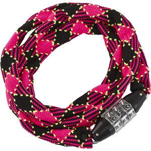 Cube RFR Junior Zahlenkettenschloss neon pink/schwarz