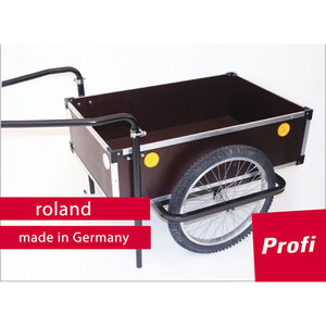 "Roland Profi Anhänger 20"" Doppeldeichsel holz/metall bei fahrrad.de Online"