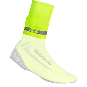 GripGrab CyclinGaiter Hi-Vis Rainy Weather Ankle Cuff fluo yellow fluo yellow