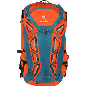Deuter Attack 20 Protector Backpack papaya-petrol papaya-petrol