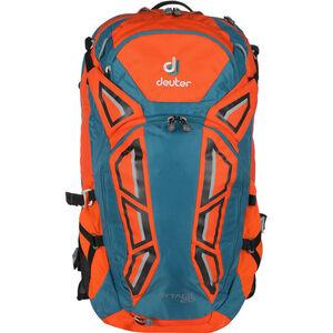 9ecbd32b4eb4e Deuter Attack 20 Protector Backpack papaya-petrol