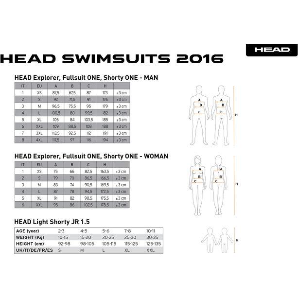 Head Expl**** 3.2.2 Wetsuit Damen black/pink
