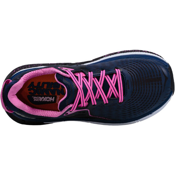 Hoka One One Gaviota Running Shoes Women medieval blue / fuchsia