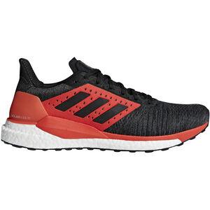 adidas SolarGlide Stability Running Shoes Men Core Black/Core Black/Hi-Res Red bei fahrrad.de Online
