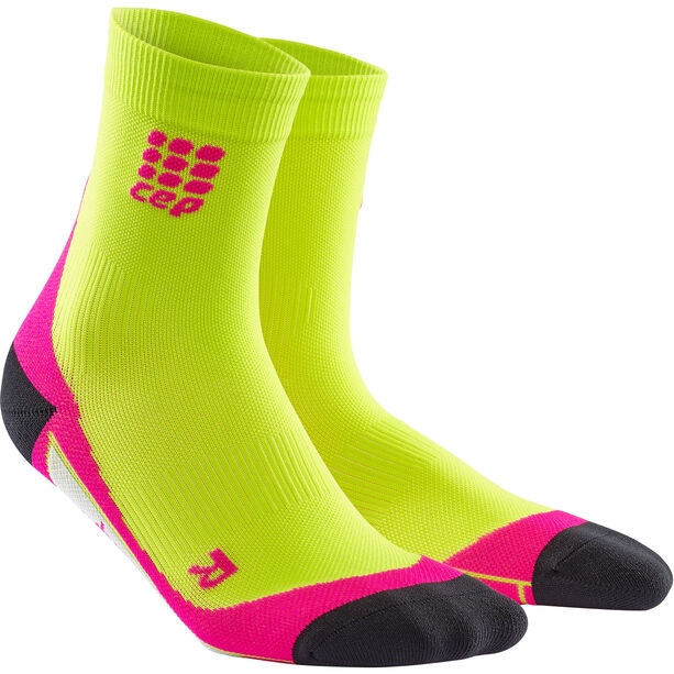 cep Dynamic+ Short Socks Damen lime/pink