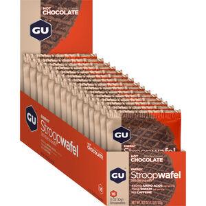 GU Energy StroopWafel Box 16x30/32g Hot Chocolate