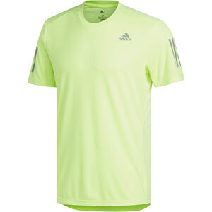 adidas Own The Run T-Shirt Herren hi-res yellow/reflective silver hi-res yellow/reflective silver