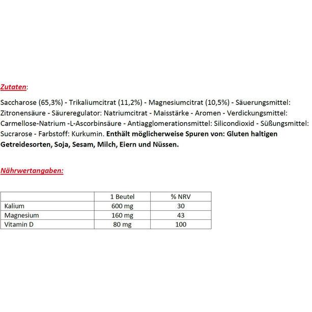 Enervit Magnesium+Kalium Box 10x15g Universal