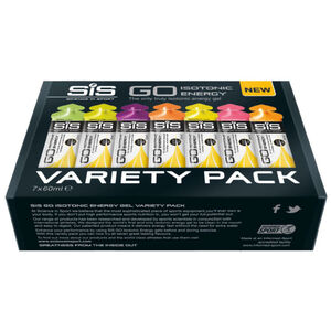 SiS GO Isotonic Energy Variety Pack 7x60ml