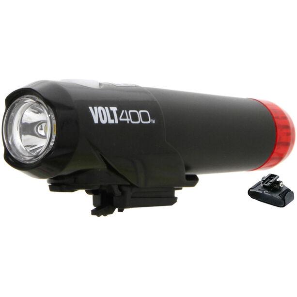 CatEye HL-EL462RC-H Helmlampe Volt 400 Duplex schwarz/rot