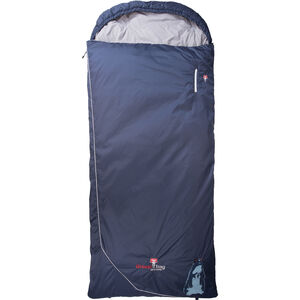 Grüezi-Bag Biopod Wool Murmeltier Comfort Sleeping Bag XXL night blue night blue