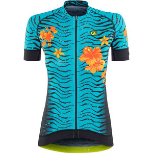 Alé Cycling Graphics PRR Savana SS Jersey Damen turquoise-flou orange turquoise-flou orange