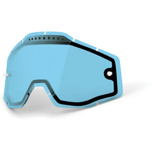 100% Vented Dual Replacement Lenses blue / clear bei fahrrad.de Online