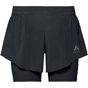Odlo Zeroweight Ceramicool PRO 2-in-1 Shorts Damen black black