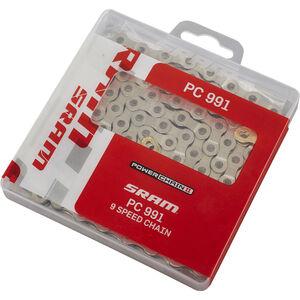 SRAM PC-991 Power Chain II Kette 9 fach silber silber