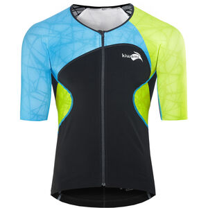 KiWAMi Spider LS Top Unisex black/blue/lime