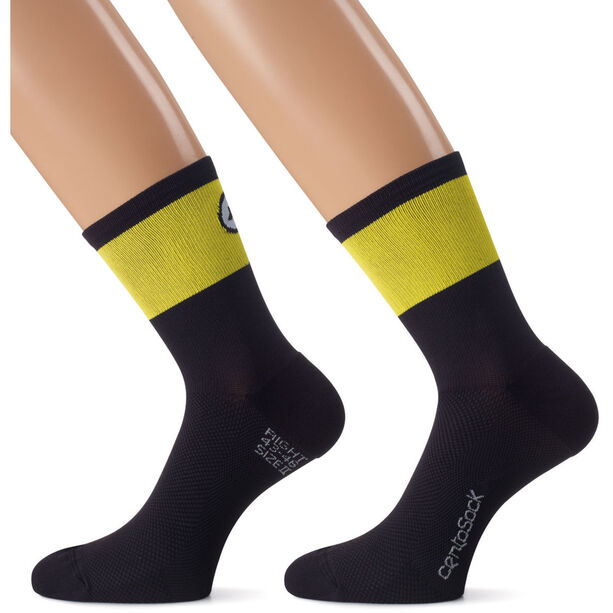 assos CentoSocks_Evo8 volt yellow