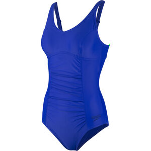 speedo Vivienne Clipback Swimsuit Damen blue blue