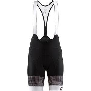 Craft Empress Bib Shorts Damen black/white black/white