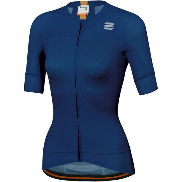 Sportful Bodyfit Pro Evo Trikot Damen blue twilight gold