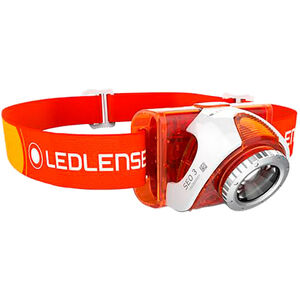 Led Lenser SEO 4 Stirnlampe orange orange