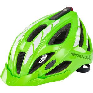 Endura Luminite Helmet hi-viz green/reflective hi-viz green/reflective
