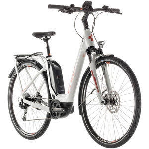 Cube Touring Hybrid 500 Easy Entry Grey'n'Orange bei fahrrad.de Online