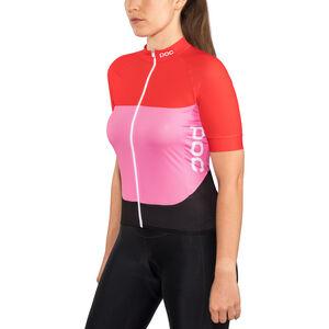 POC Essential Road SS Light Jersey Women prismane red/altair pink bei fahrrad.de Online