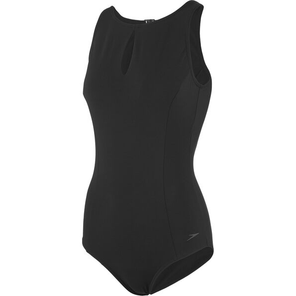 speedo Vivashine Swimsuit Damen black