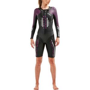 2XU Sr:Pro-Swim Run Pro Wetsuit Damen black/very berry black/very berry