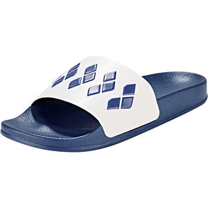 arena Team Stripe Slide Sandals Unisex navy-white-navy