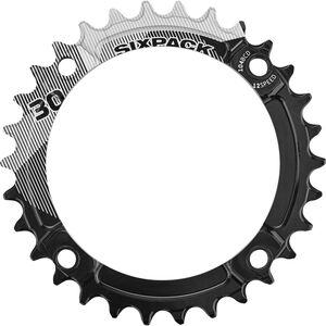 Sixpack K-Ring Narrow Wide Kettenblatt schwarz bei fahrrad.de Online