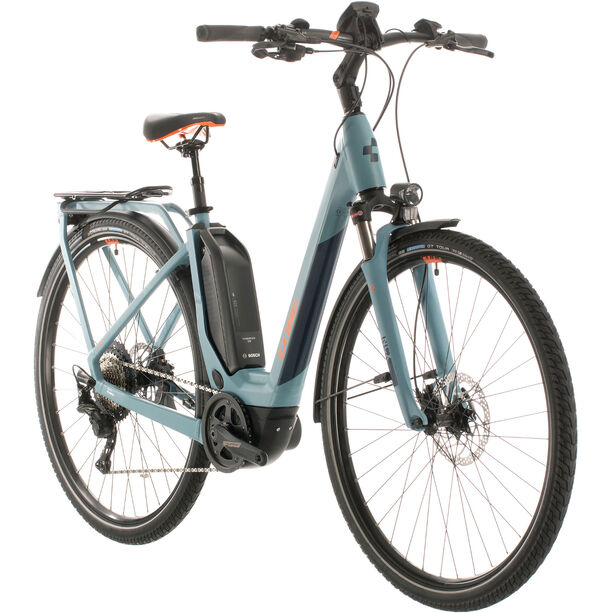 Cube Touring Hybrid EXC 500 Easy Entry blue/orange
