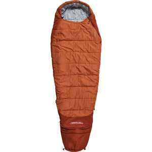 Nordisk Knuth Sleeping Bag 160-190cm Kinder burnt red burnt red