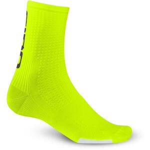 Giro HRC Team Socks highlight yellow/black highlight yellow/black