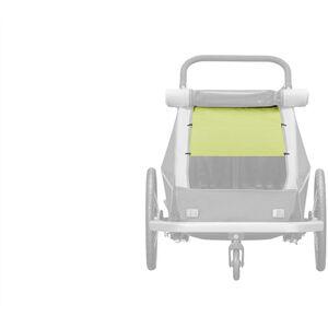 Croozer Sonnenschutz für Kid Plus / Kid for 2 Kinder lemon green lemon green