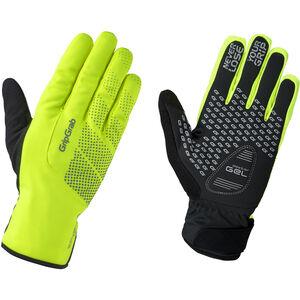 GripGrab Ride Hi-Vis Waterproof Winter Gloves fluo yellow fluo yellow