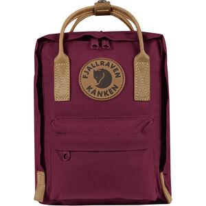 Fjällräven Kånken No.2 Mini Backpack Kinder plum plum