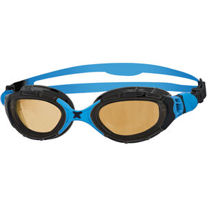 Zoggs Predator Flex Goggles Polarized Ultra black/blue/copper black/blue/copper