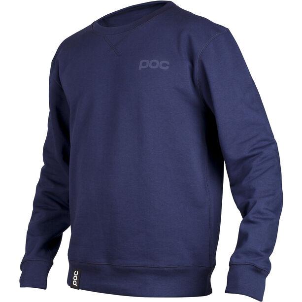 POC LS Rundhalsshirt Herren navy blue