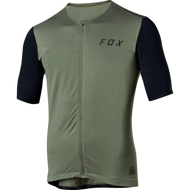 Fox Ascent Shortsleeve Jersey Herren dark fatigue