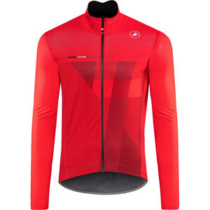 Castelli Pro Fit Light Rain Jacket Herren red red