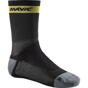 Mavic Ksyrium Pro Thermo+ Socks Black/Dark Cloud bei fahrrad.de Online