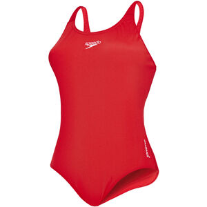 speedo Essential Endurance+ Medalist Swimsuit Damen fed red fed red