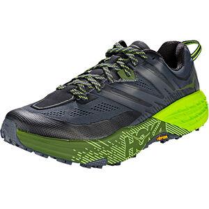 Hoka One One Speedgoat 3 Running Shoes Men Ebony/Black