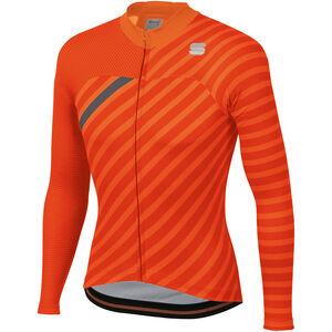 Sportful Bodyfit Team Langarm Winter Trikot Herren orange sdr/fire red/anthracite orange sdr/fire red/anthracite