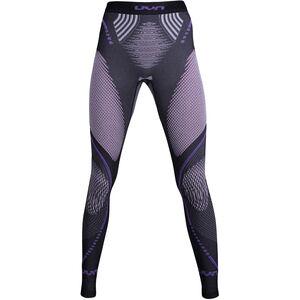 UYN Evolutyon Melange UW Long Pants Damen anthracite melange/raspberry/purple anthracite melange/raspberry/purple