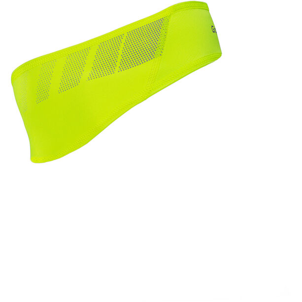 GripGrab Windproof Hi-Vis Headband fluo yellow