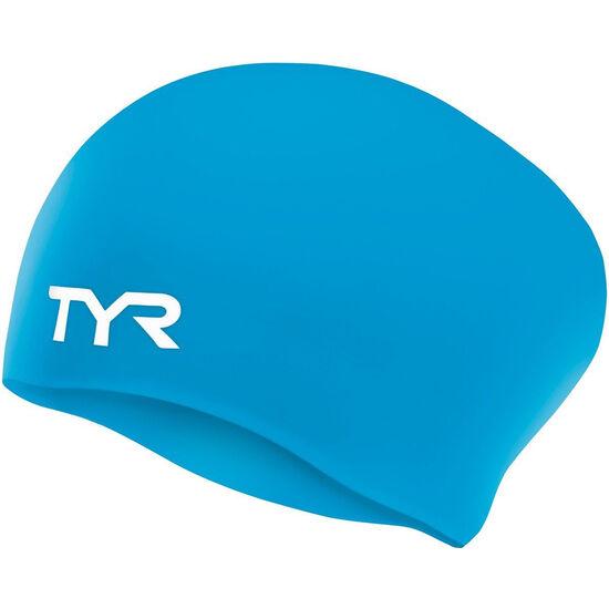 TYR Wrinkle-Free Long Hair Swimming Cap bei fahrrad.de Online