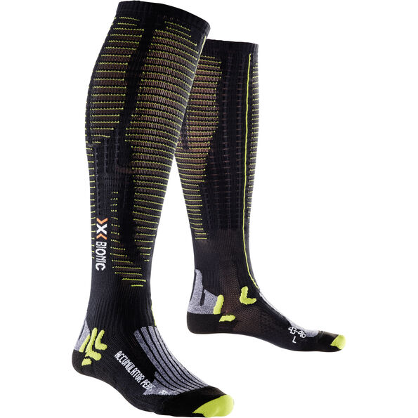 X-Bionic Effektor Accumulator Performance Socks Herren black/acid green